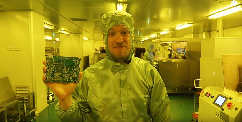 Cómo se fabrica una placa PCB en una enorme factoría china