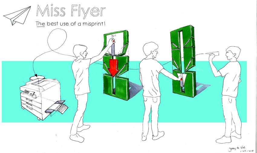 Miss Flyer: Máquina Open Source para convertir folios en aviones de papel