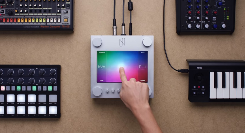 NSynth Super el sintetizador de música de Google que usa Machine Learning