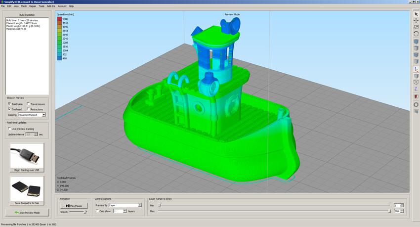 Cómo utilizar el laminador profesional Simplify3D