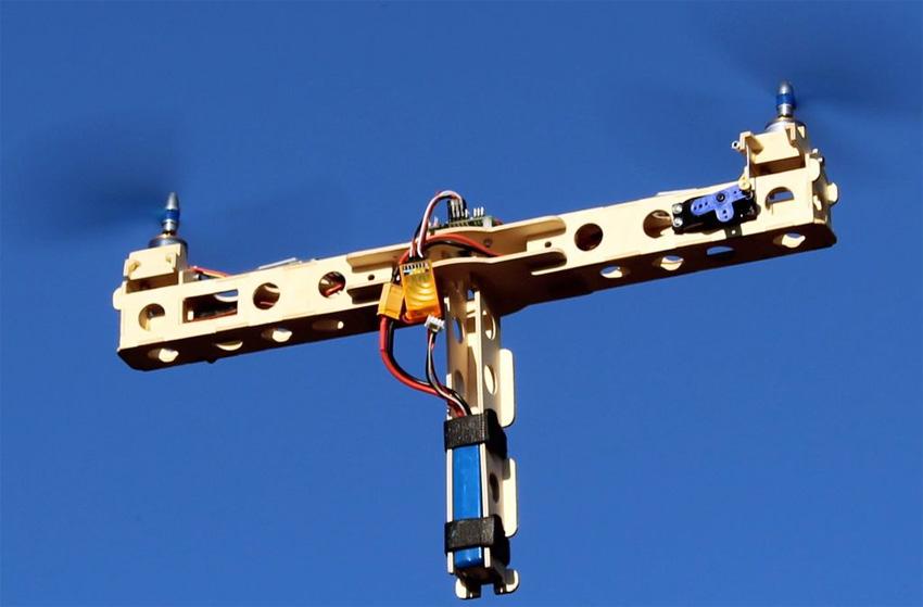 Cómo hacer un dron bicopter