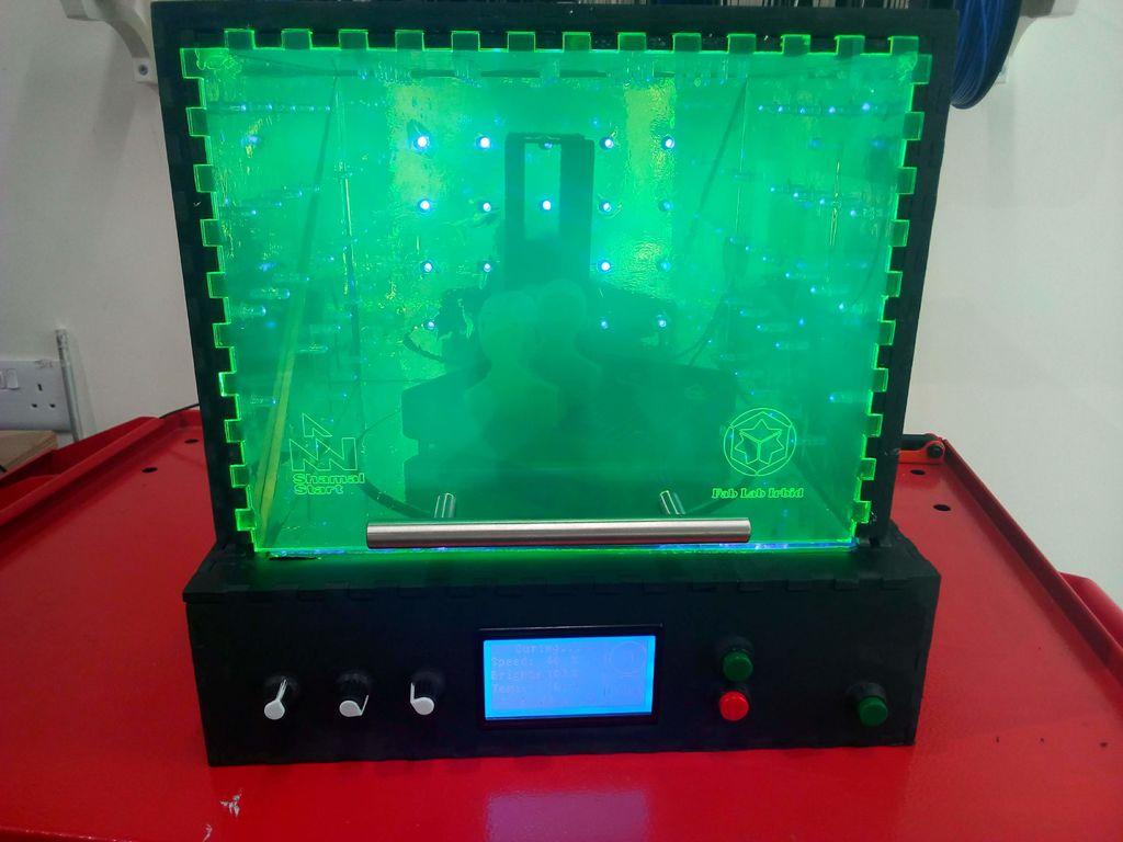 Cámara de Curado UV para impresoras 3D SLA