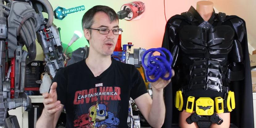 Imprimiendo objetos imposibles en 3D con soporte soluble