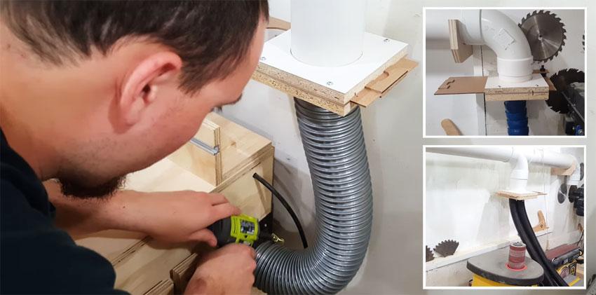 Cómo montar un sistema de extracción casero para tu taller
