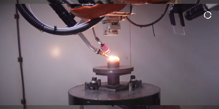 KUKA desarrolla un sistema de impresión 3D por fundición de metal