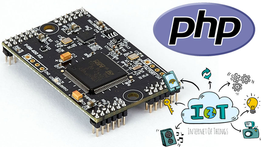 P4M-400 permite programar en PHP tus proyectos IoT