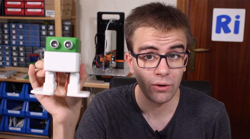 Tutorial de cómo montar un robot OTTO DIY