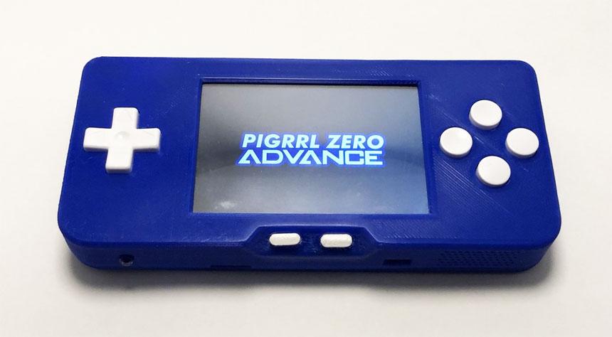 Emulador Raspberry Pi Portable PiGrrl Zero Advance