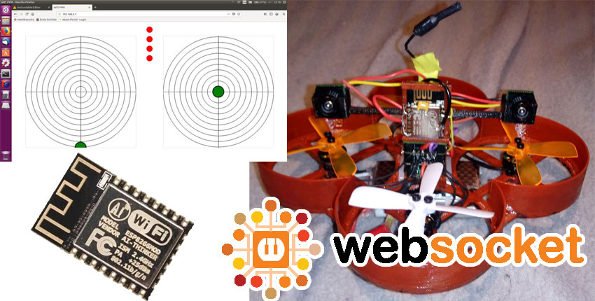 Cómo controlar un dron con ESP8266 Wifi y Websockets