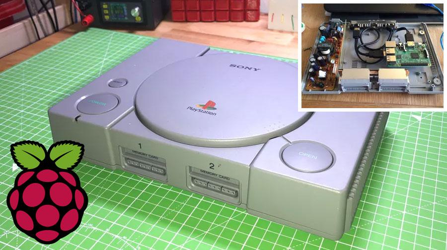 Cómo renovar tu vieja PlayStation con Raspberry Pi
