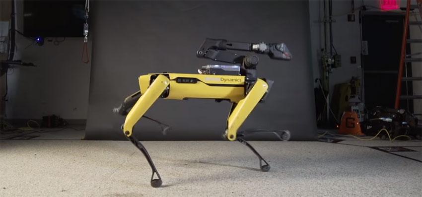 Boston Dynamics pone su robot Spot Mini a bailar Uptown Funk
