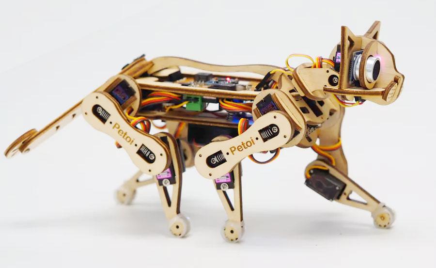 Petoi Nybble: Un gatito robótico Open Source