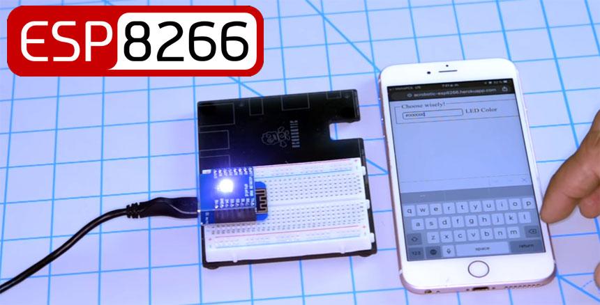 Cómo controlar dispositivos desde Internet con ESP8266