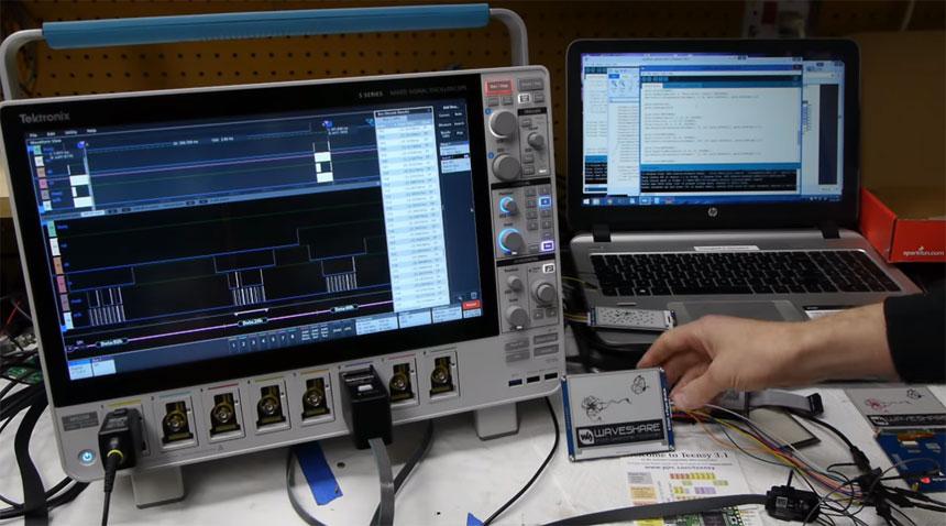 Cómo dibujar más rápido en una pantalla E-Paper