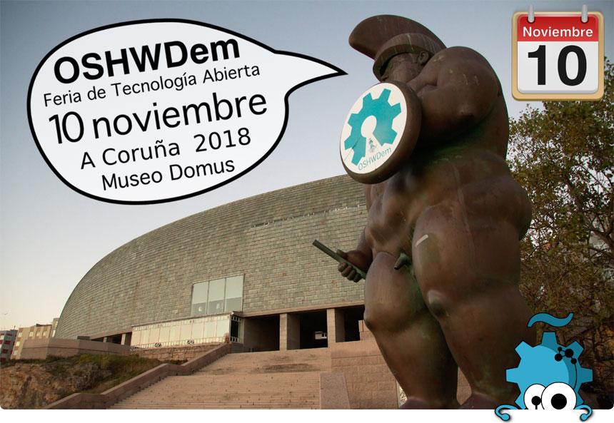 Comienza la OSHWDem 2018