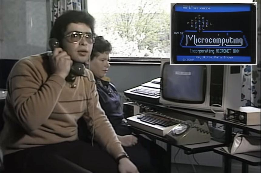 Cómo se enviaba un email a principios de los años 80