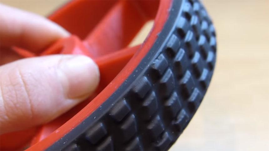 Cómo hacer ruedas de silicona caseras con impresión 3D