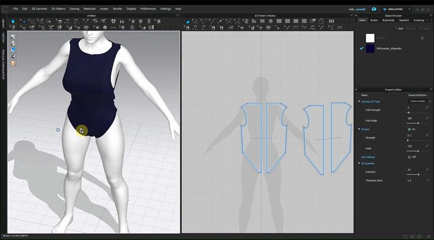 Clo3D permite crear fácilmente ropa para Cosplay
