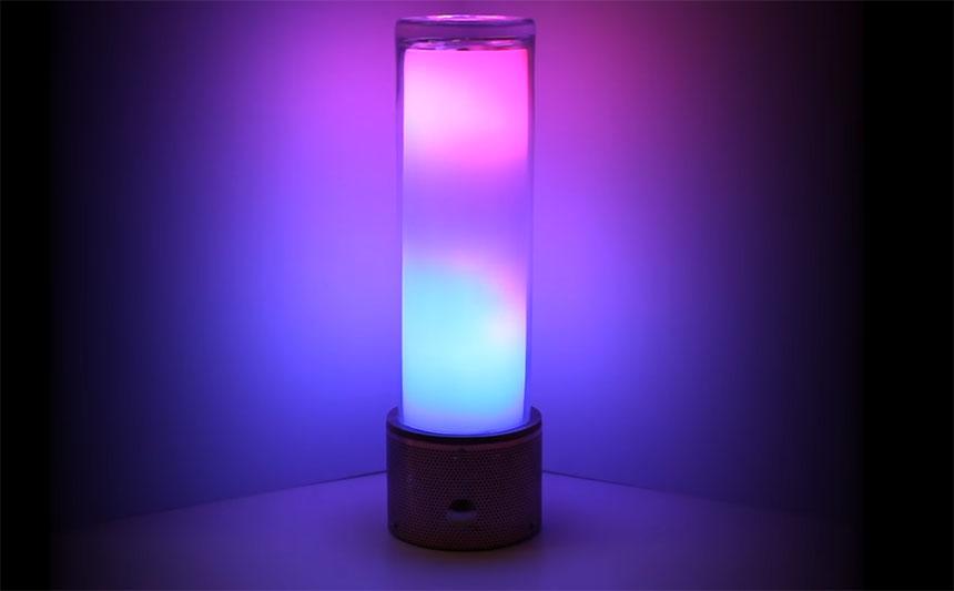 Lámpara de lava digital con neopixels y Raspberry Pi