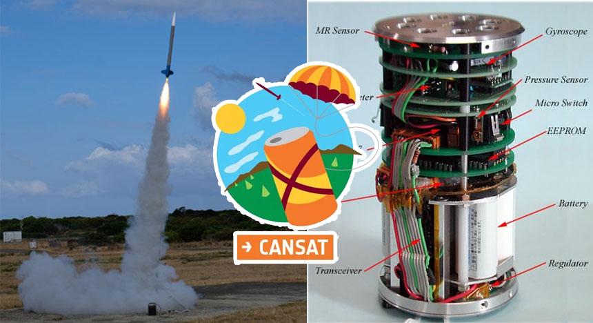 CanSAT: Recursos para profesores para enseñar a lanzar cohetes espaciales