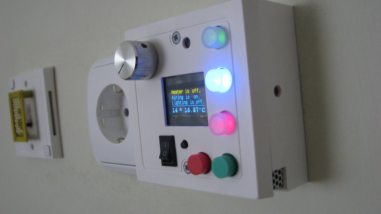 Termostato casero inteligente con Bluetooth controlado con Arduino