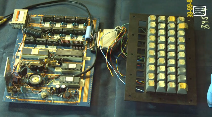 Conoce cómo era el prototipo del mítico Sinclair ZX Spectrum