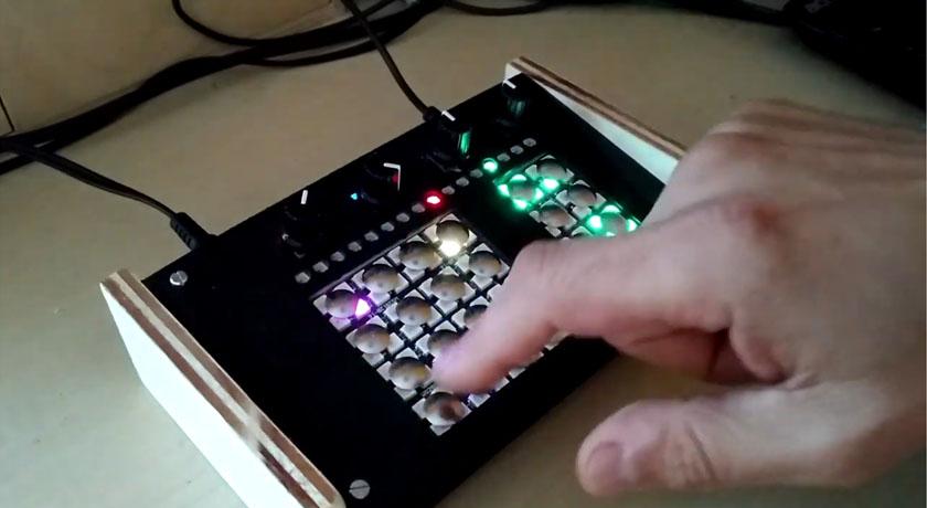 Caja de ritmos casera con ESP8266