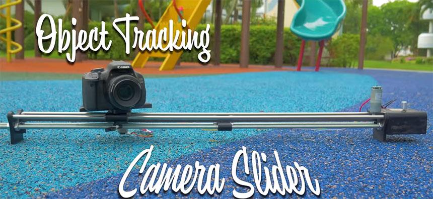 Cómo montar un slider para cámaras DSLR con tracking de objetos