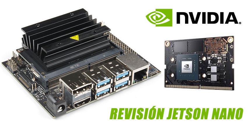 Revisión de la Jetson Nano de NVIDIA