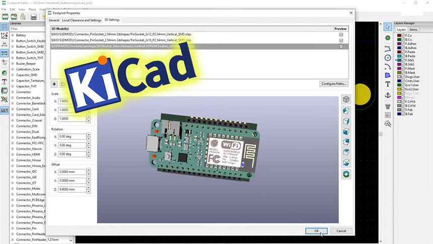 Cómo diseñar una placa PCB desde cero con KiCad