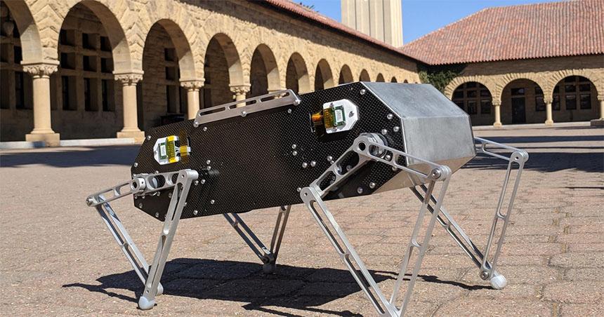 El increíble robot Doggo de la Universiad de Stanford que puedes montar tu mismo