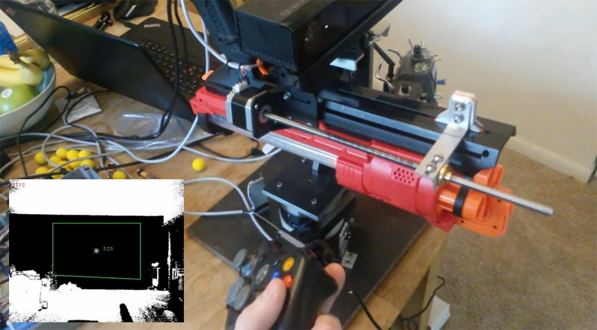 Cazando drones con OpenCV y Kinect