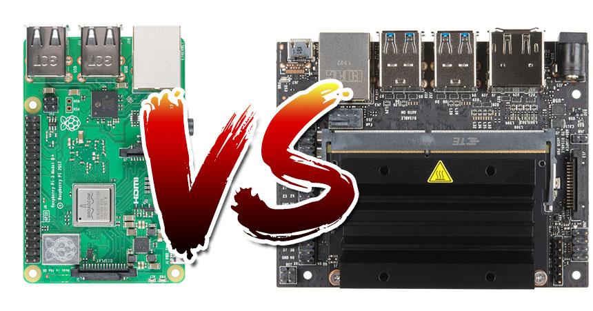 Raspberry Pi VS NVIDIA Jetson Nano