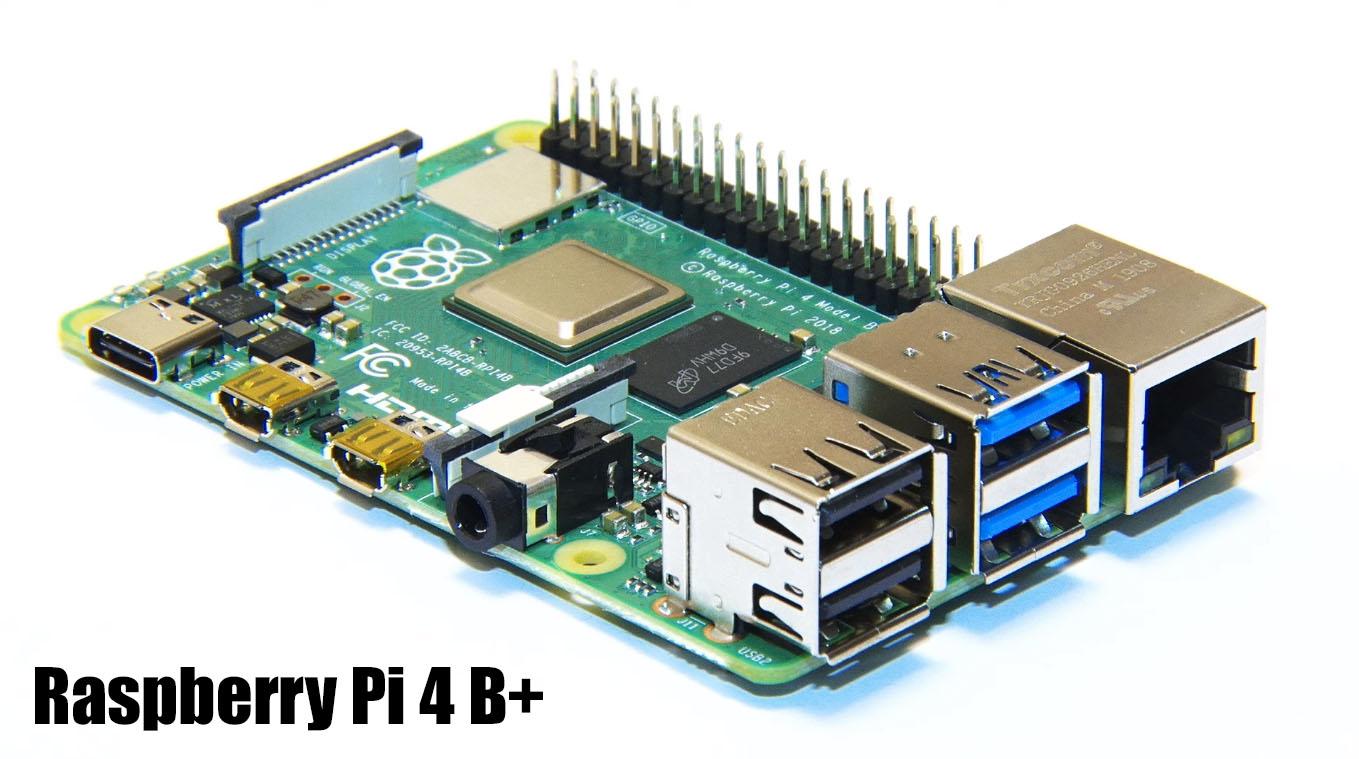 Nueva Raspberry Pi 4 B+ con 4GB de RAM y dos salidas 4K