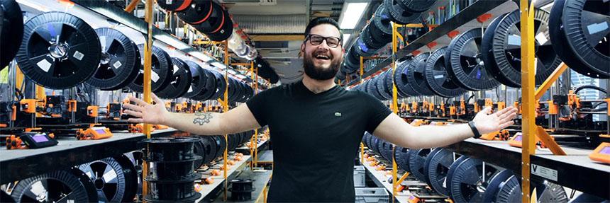 La historia de josef Prusa y su evolución hasta vender 100.000 impresoras 3D en todo el mundo