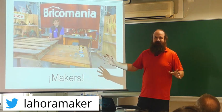 Video charla: ¿Qué es el Movimiento Maker?