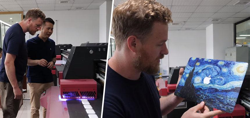 Cómo se fabrica una impresora industrial de tinta que imprime sobre cualquier cosa