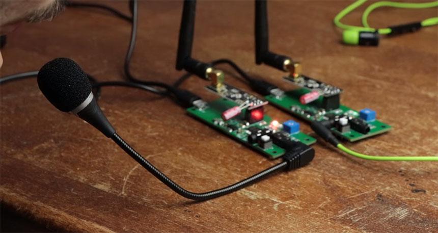 Creando un intercomunicador para moto con Arduino y transmisor nRF24