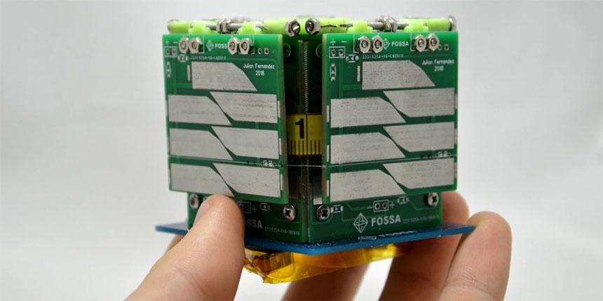 Tecnología Española para lanzar el mini satélite FossaSat-1 para crear una red LoRa global