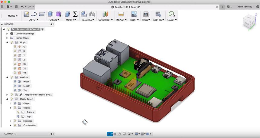 Cómo hacer cajas Snap Fit en Fusion 360 para imprimir en 3D