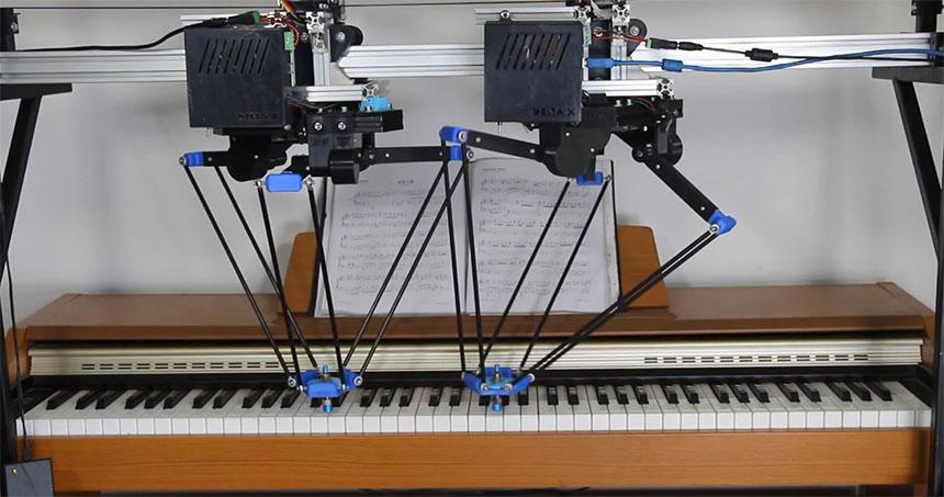 Robot Delta X Open Source basado en Arduino que puedes montar tu mismo