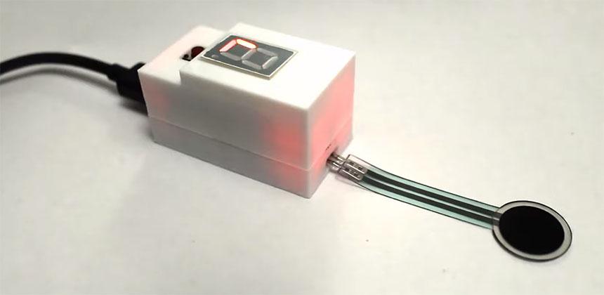 Sensor de nivelado digital para cama caliente controlado con Arduino