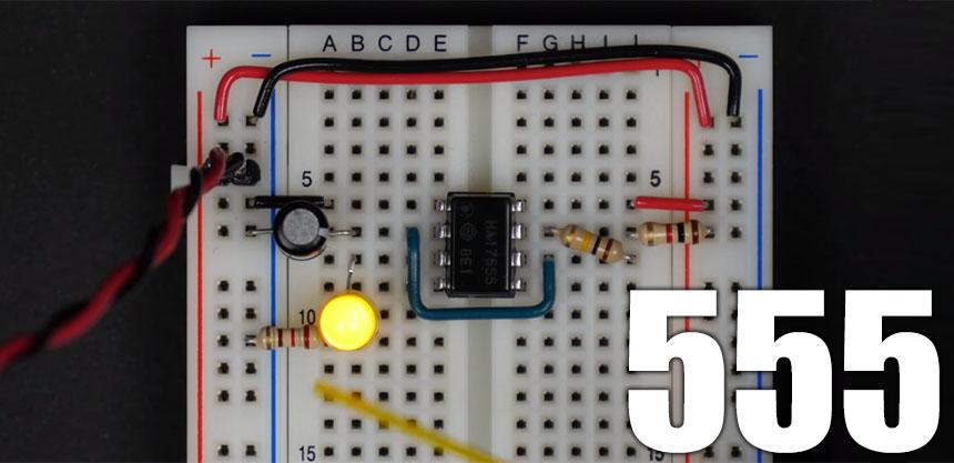 Todo lo que necesitas saber sobre el timer 555 explicado en vídeo
