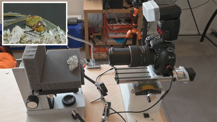 Macrofotografía automática con Arduino y Matlab