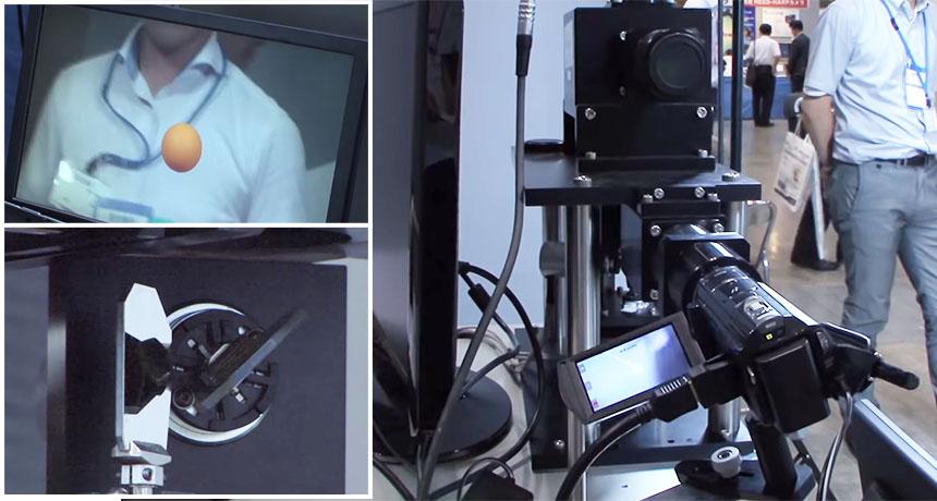 Reconocimiento visual de alta velocidad y extrema precisión