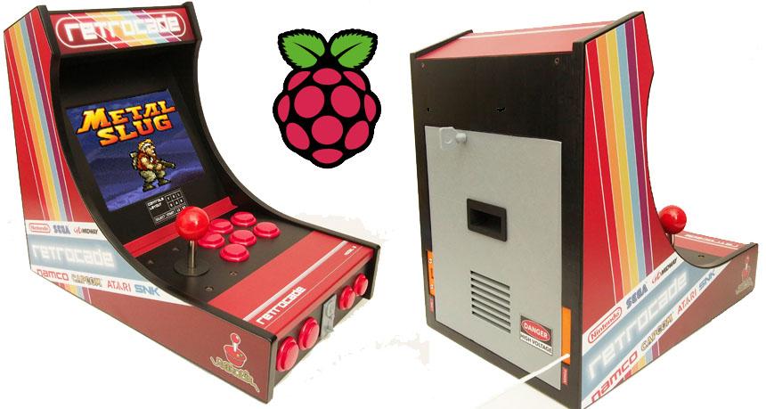 Cómo hacer una barcade con Raspberry Pi impresa en 3D
