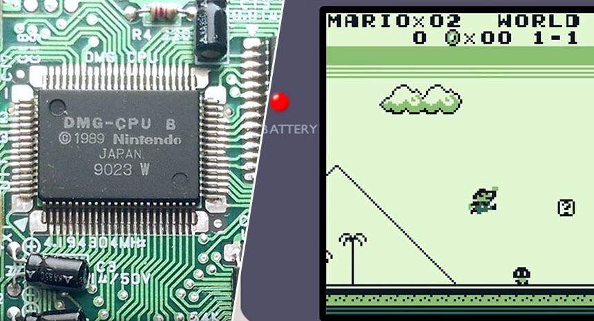 Cómo funciona el sistema de vídeo de la Nintendo Game Boy