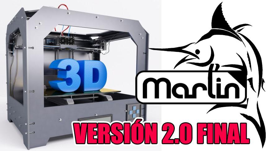Publicada la versión final de Marlin 2.0 con soporte completo de 32-bits
