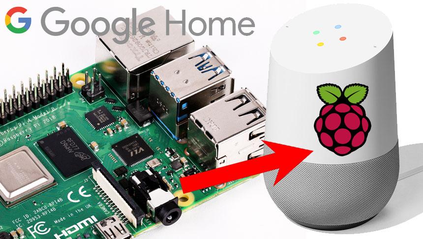 Cómo montar montar tu propio Google Home casero con Raspberry Pi