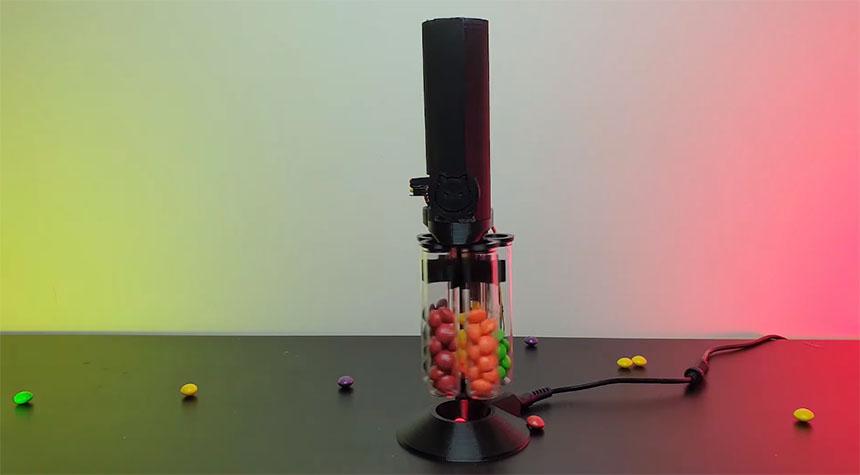 Cómo hacer una máquina clasificadora de caramelos por colores con Arduino